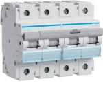 Миниатюрный автоматический выключатель 4 полюс 125А 15kA характеристика D 6м