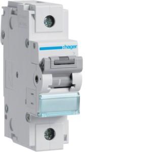 Миниатюрный автоматический выключатель 1 полюс 100А 10kA характеристика C 1,5м