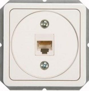 Kомпьютерная розетка RJ45, 5e кат., AMP, без рамки