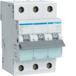Миниатюрный автоматический выключатель 3 полюсный, 13А, 6kA, характеристика B, MBN
