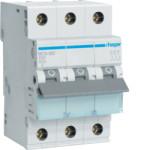Миниатюрный автоматический выключатель 3 полюсный, 2А, 6kA, характеристика C, MCN