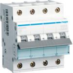 Миниатюрный автоматический выключатель 4 полюсный, 10А, 6kA, характеристика C, MCN
