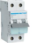 Миниатюрный автоматический выключатель 1 полюс +N, 16А, 6kA, характеристика C, MCN