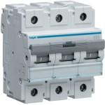 Миниатюрный автоматический выключатель 3 полюс 125А 15kA характеристика B 4,5м