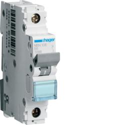 Миниатюрный автоматический выключатель 1 полюсный, 6А, 10kA, характеристика B, NCN