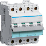 Миниатюрный автоматический выключатель 3 полюсный + N 6А 10kA характеристика B