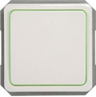 Выключатель 2-пoлюсный с лампочкой без рамки SPectrum SP 300