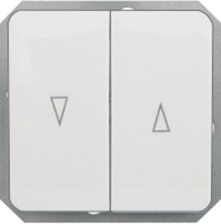 Кнопки для управления жалюзи без рамки серии LuXe LX 200