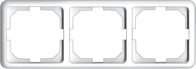 3-местная рамка LuXe LX 200