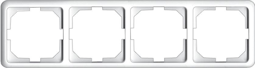 4-местная рамка LuXe LX 200