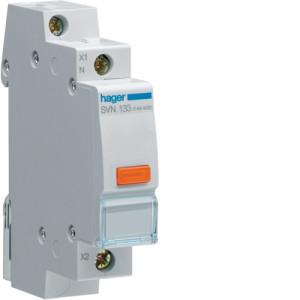 Светодиодный индикатор c оранжевым фильтром 12/48В , серии SVN