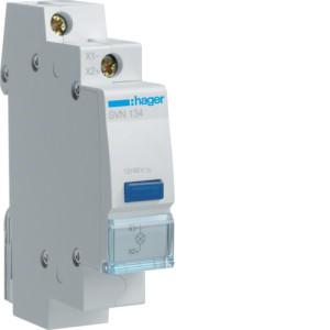 Светодиодный индикатор c синим фильтром 12/48В , серии SVN