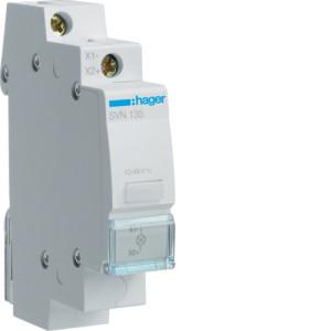 Светодиодный индикатор c бесцветным фильтром 12/48В , серии SVN