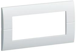 Рамка однократная, пятимодульная, горизонтальная (фиксация центров 71мм)