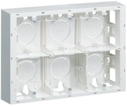 Коробка монтажная для открытой установки под 1хWS456