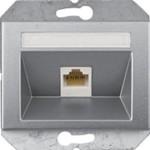 Компьютерная розетка 1xRJ45 CAT5e UTP (AMP) без рамки