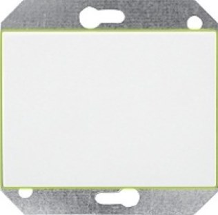 Выключатель 1-пoлюсный с подсветкой без рамки