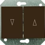 Кнопки для управления жалюзи без рамки серия eXpess