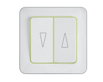 Кнопки для управления жалюзи с лампочкой, без рамки серии Style SL 250