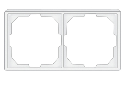 2-местная рамка STandard ST 150
