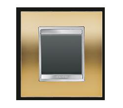 LUX GOLD с черной клавишей