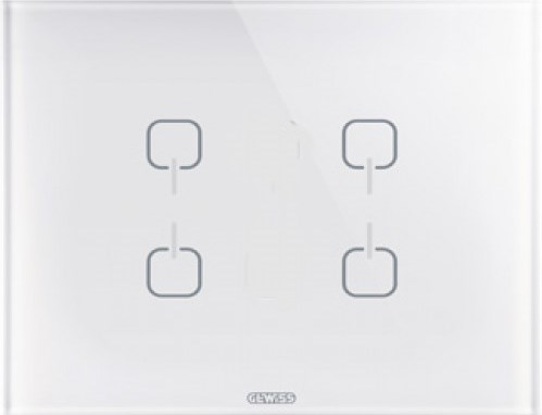 Рамка ICE TOUCH KNX — 4 символа