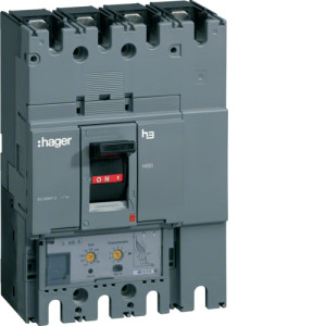 Автоматические выключатели, h630,  регулируемый тепловой и магнитный расцепитель, 4P,  630 A,  70kA