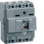 Силовой автоматический выключатель  серии x160, TM рег., 4P,  63 A,  40kA