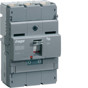 Автоматические выключатели, X250, регулируемый тепловой и магнитный расцепитель, 3P,  100 A,  40kA