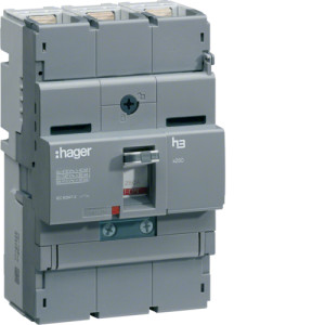 Автоматические выключатели, X250,  регулируемый тепловой и магнитный расцепитель, 3P,  160 A,  40kA