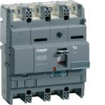 Автоматические выключатели, X250,  регулируемый тепловой и магнитный расцепитель, 4P,  125 A,  40kA