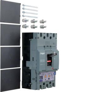 Автоматические выключатели, h630,  регулируемый тепловой и магнитный расцепитель, 3P,  630 A,  50kA