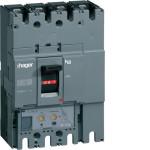 Автоматические выключатели, h630,  регулируемый тепловой и магнитный расцепитель, 4P,  400 A,  50kA