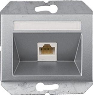 Tелефонная розетка 1xRJ11 без рамки