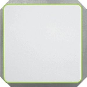 Выключатель 2-пoлюсный с лампочкой без рамки LuXe LX 200