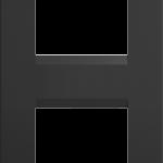 Четырехмодульная рамка Line