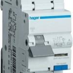 Дифференциальный автоматический выключатель 1P+N 6kA C-40A 30mA A-тип