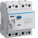 Устройство защитного отключения 4P, 80A, 500mA, A-тип, Hager