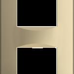 Четырехмодульная рамка Soft 2х2М