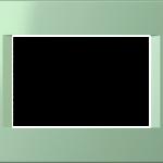 Трехмодульная рамка Line горизонтальная