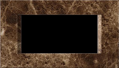 Четырехмодульная рамка Line горизонтальная