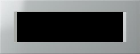 Семимодульная рамка горизонтальная Line