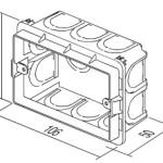 Коробка прямоугольная для кирпичных стен PM3