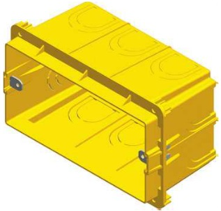 Коробка прямоугольная для кирпичных стен PM4 — 65
