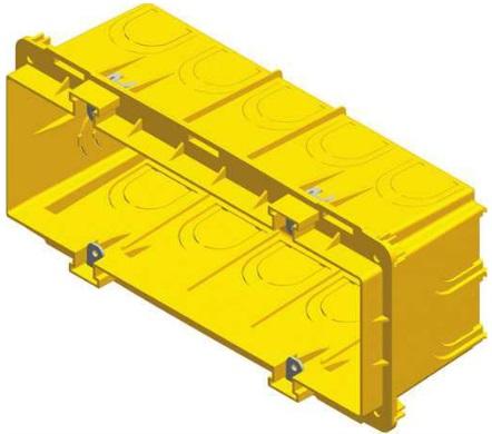 Коробка прямоугольная для кирпичных стен PM7 — 65