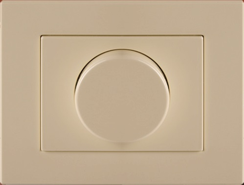 Светорегулятор 20-400W для ламп накаливания и галогенных ламп с рамкой