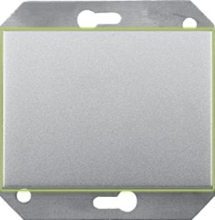 Выключатель без фиксации с подсветкой без рамки