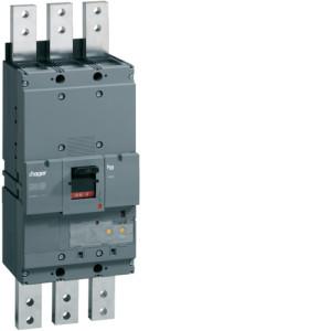 Автоматические выключатели, h1600,  электронной регулировкой теплового и магнитного расцепителя, 3P, 1250 A,  50kA