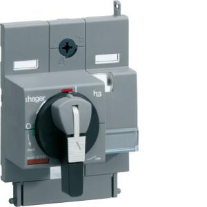 Поворотная рукоятка непосредственно на аппарат (замок max d6 мм) x160
