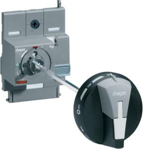 Поворотная рукоятка на аппарат с удлиненной осью для установки на дверь x160